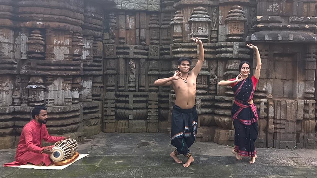 Odissi dance in Bhubaneswar, Odisha, India